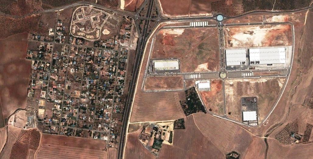 después, urbanismo, foto aérea,desastre, urbanístico, planeamiento, urbano, construcción,La Celada, Sevilla