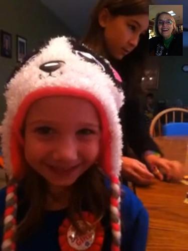 Maddie is six!