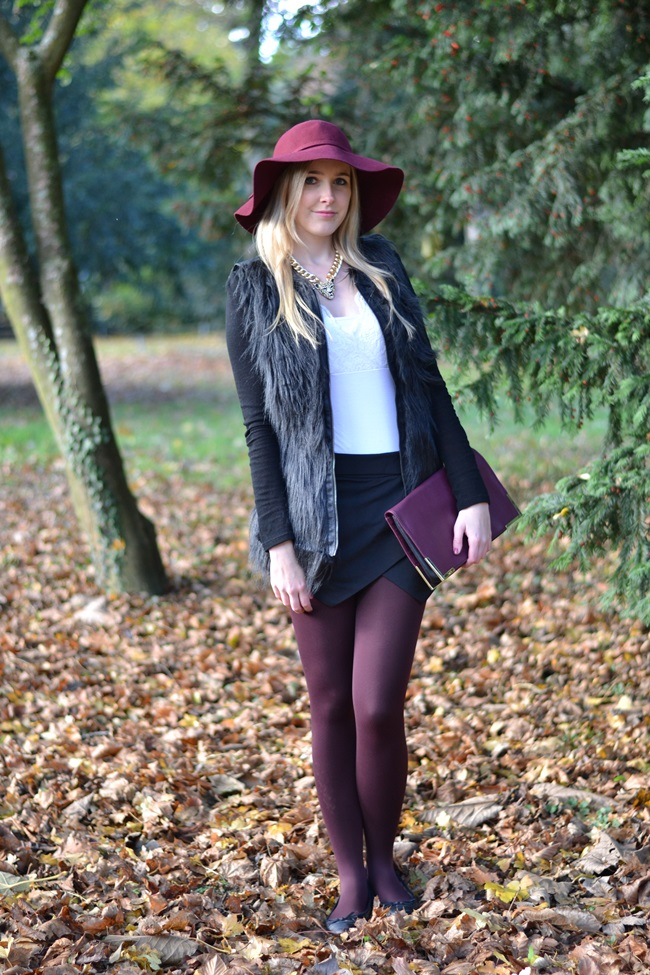Outfit Mix and Match Der weinrote Hut (2)