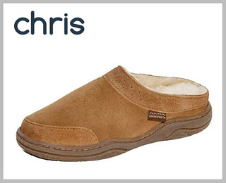 Canterbury Sheepskin 'Chris' slippers