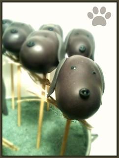 Cake pops de gossets!
