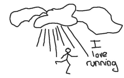Al mal tiempo buena cara: running bajo la lluvia y gimnasia en grupo