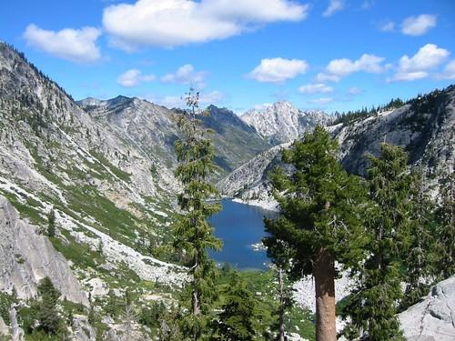 Sapphire Lake -- Suicide Ridge -- Trinity Alps