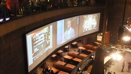 SnapShot | The TV's Facing The Bar From Second Floor  #New #Meadowlands