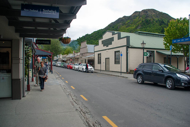 Main Street in Arrowtown