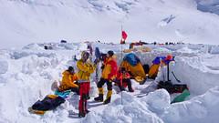 Nasze namioty w obozie 4600m (14000ft camp)