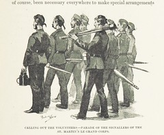 """British Library digitised image from page 173 of """"The Great War of 189-. A forecast. By Rear-Admiral P. Colomb, Colonel J. F. Maurice, R.A, Captain F. N. Maude, Archibald Forbes, Charles Lowe, D. Christie Murray, and F. Scudamore. With illustrations from"""