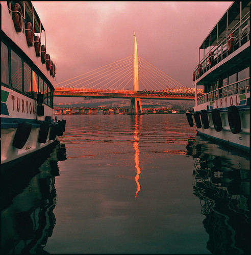 a new bridge over the bosphorus