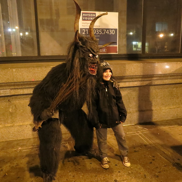 Krampus L.A. at Downtown Art Walk