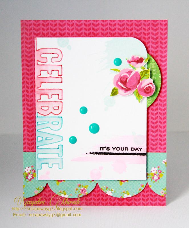 Celebrate #2 card