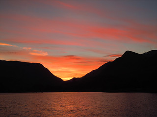 Padarn Sunrise in December.