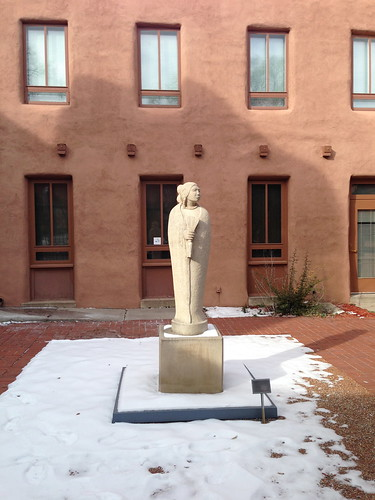 Outdoor sculpture, Museum of Contemporary Native Art