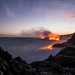 Kilauea pushing lava into the ocean by jsbfin
