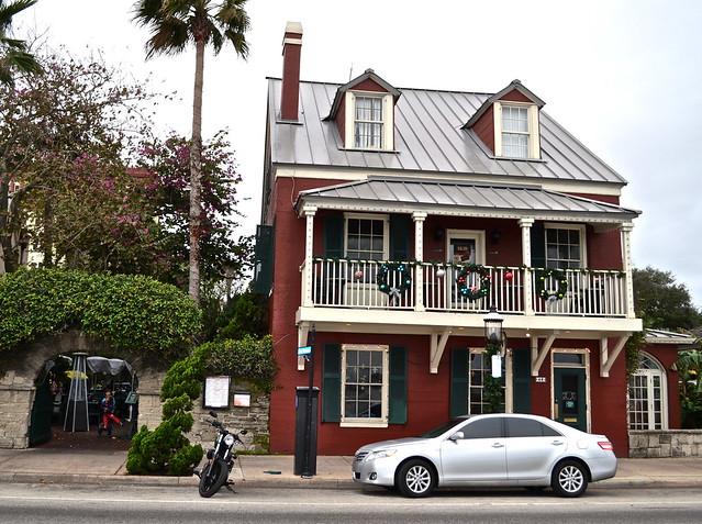 harry's seafood bar & grille, 46 avenida menendez, st. augustine, florida