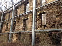 Ruffs Mill Factory Ruins Inside