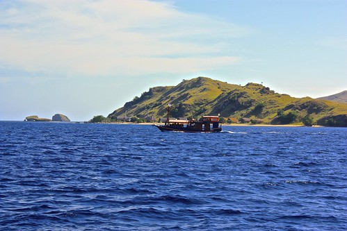 out in the Flores sea