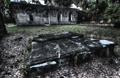 Abandoned tomb