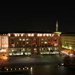 Reagan Building and Washington Monument