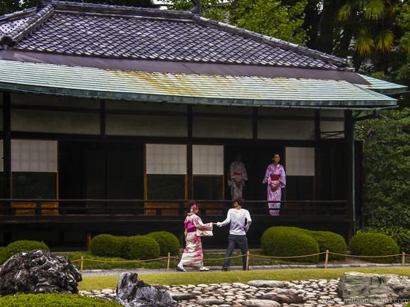 Casa del té - Kioto