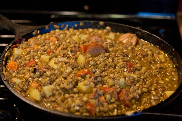 Spanish Lentil Stew-12 | Flickr - Photo Sharing!
