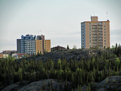 Fraser Tower, Anderson-Thomson Tower and the Watermark