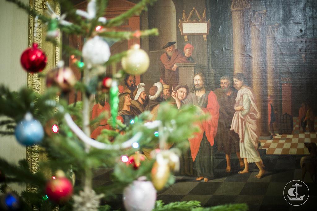 7 января 2014, Поздравления владыке ректору с Рождеством