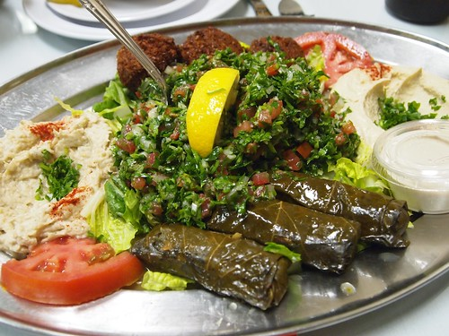 Dinner at Hayat's Kitchen, North Hollywood, CA - 06