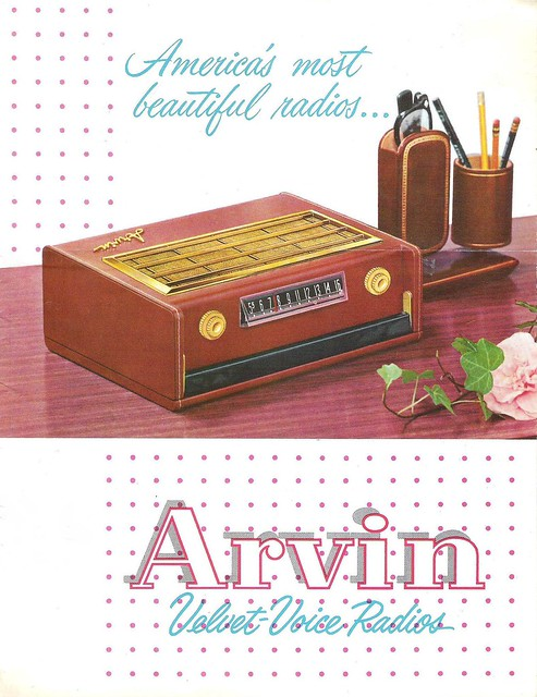 ARVIN Velvet Voice Radios Dealer Brochure (USA 1956)_01