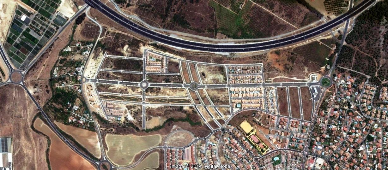 después, urbanismo, foto aérea,desastre, urbanístico, planeamiento, urbano, construcción,Alhaurín de la Torre, Málaga