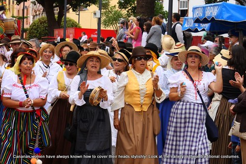 Traditional Canarian costumes