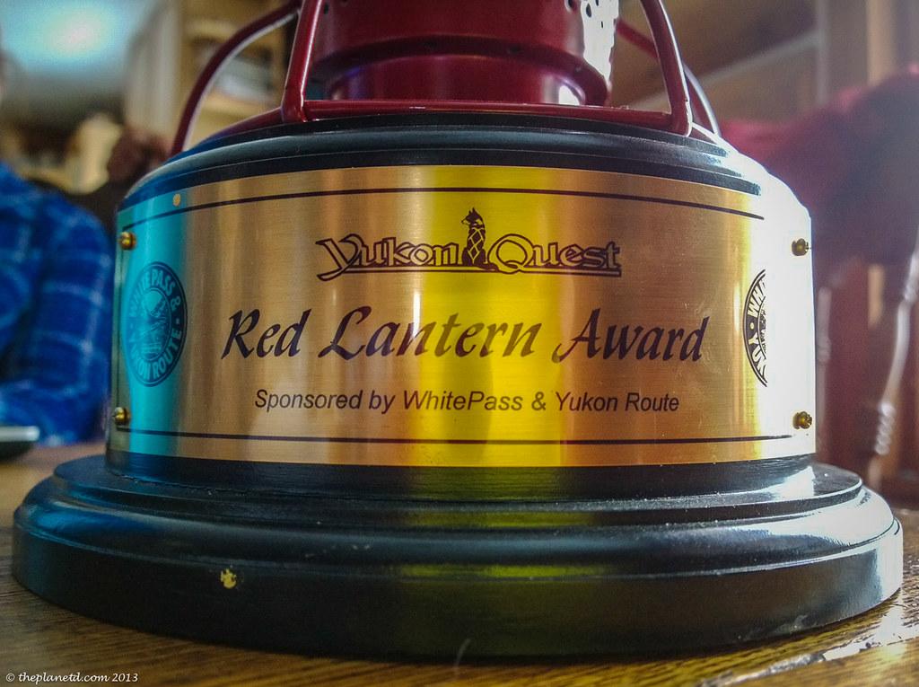 The Yukon Quest Trophy