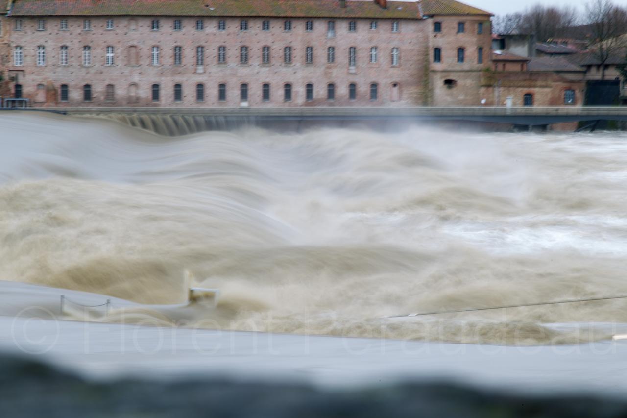 la Garonne en crue, 25 et 26 janvier 2014, Toulouse 12137230014_ee6622e2a4_o