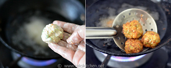 How to make veg manchurian gravy step 2