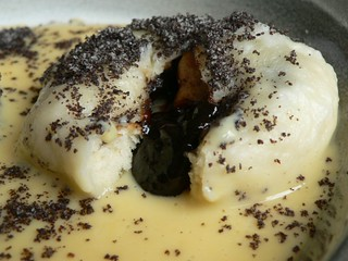 Germknödel with Powidl & sweet poppy seeds 004