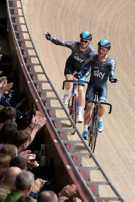 Ben Swift and Peter Kennaugh