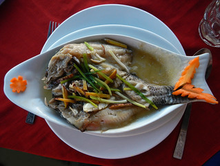 Inle Lake fish for lunch (Myanmar)
