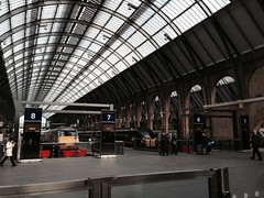 Platforms of King's Cross station