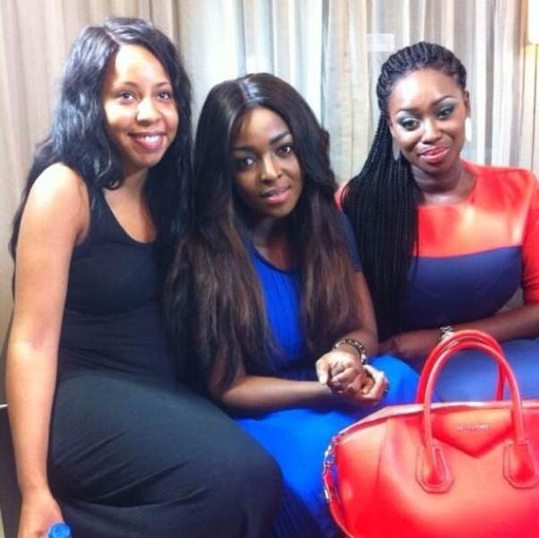 Peace Hyde interviews Yvonne Okoro on the EFGH show