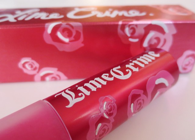 12489601413 3b34fa6a6f z REVIEW: LIMECRIME PINK VELVET