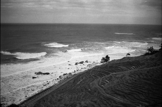 千枚田から見える日本海 - Sea of Japan seen from the thousand pieces of field