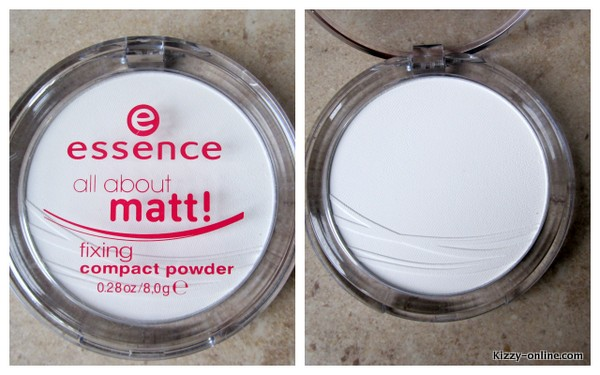 Mattifying Powder Essence All About Matt Fixing Compact