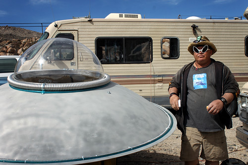 Coyote's Flying Saucer Repair shop