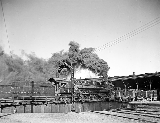 ... Turntable, Texas & Pacific Railway Company] | Flickr - Photo Sharing Pacific Railway Company