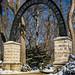 Weber Arch in Winter by Daniel M. Reck