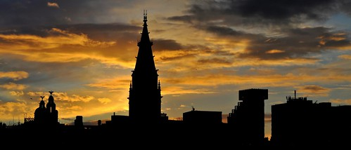Liverpool Sunset