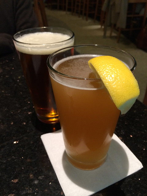 Blue Moon and Sierra Nevada beers - Firewood Cafe