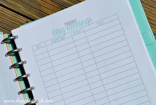 Blog Planner Ideas