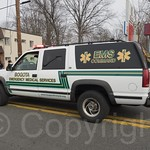 Bogota EMS Command Vehicle, 2014 Bergen County St. Patrick`s Day Parade, Bergenfield, New Jersey