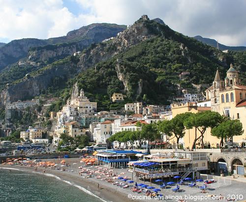 Amalfi von Osten