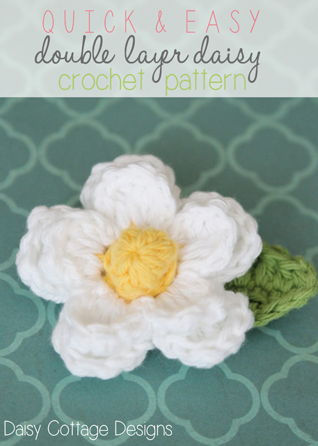 How to Crochet a Daisy Flower